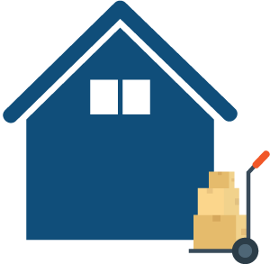 House Clearance and Trolley icon