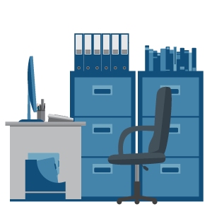 Office and Commercial Clearance icon