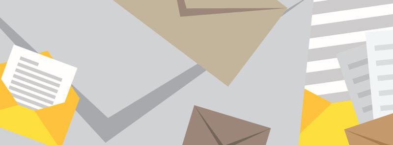 Junk Mail Illustration